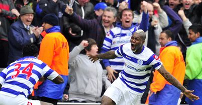 Cisse: Celebrates his late winner