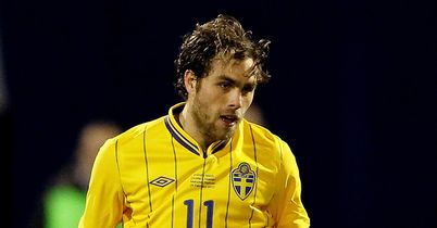 Johan Elmander: Signed a two-year deal with Brondby