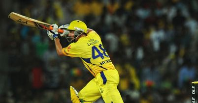 Michael Hussey: Chennai Super Kings opener fell five short of century