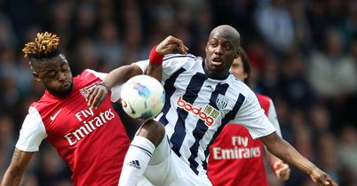 Youssouf Mulumbu: Back in training after knee injury