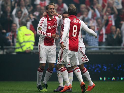 Siem de Jong: Seventh goal of the season in Ajax victory