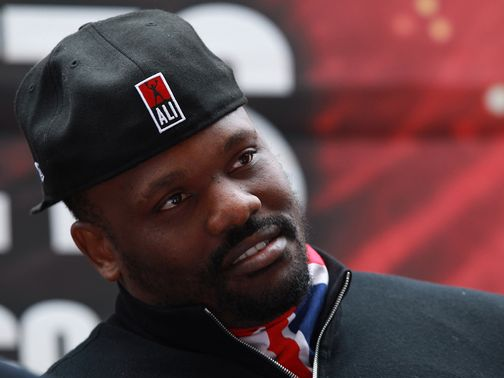 Dereck Chisora: Has regained his British Boxing Board of Control licence