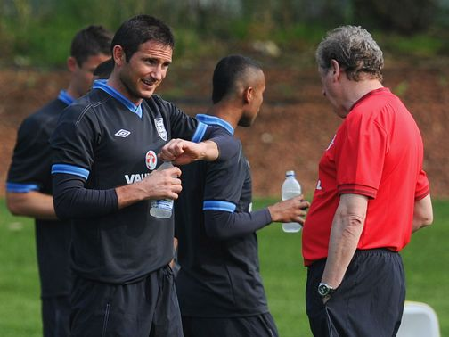 Frank Lampard: Thigh injury