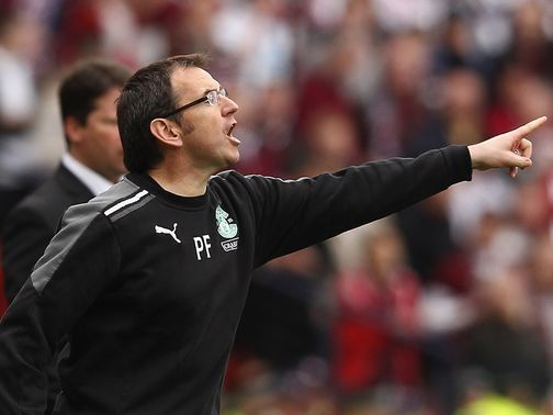 Pat Fenlon: Would miss Edinburgh derby