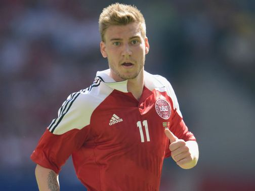 Nicklas Bendtner: Could exit Arsenal