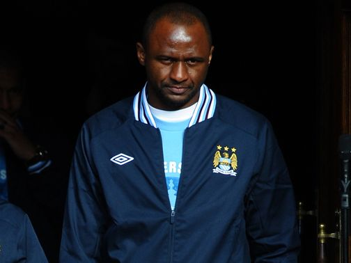 Vieira: Youngsters no longer dream of playing for England