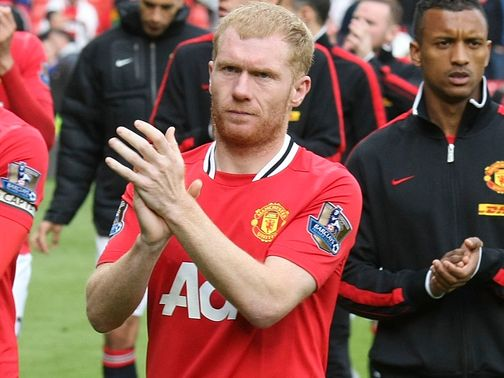 Paul Scholes: Signs up for one more season