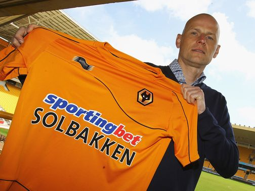 Stale Solbakken: His Wolves side beat Aldershot on penalties
