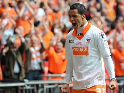 Tom Ince: Has no interest in leaving Blackpool