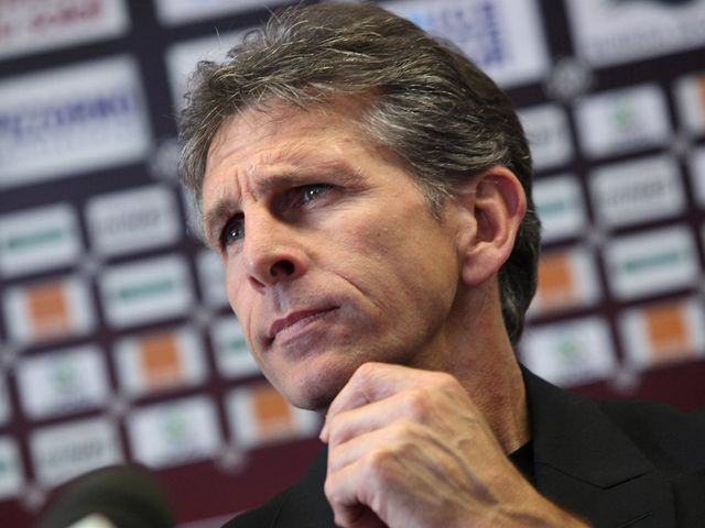 Claude Puel: Hoping to clinch third spot in Ligue 1