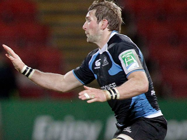 John Barclay: Crossed for Glasgow try