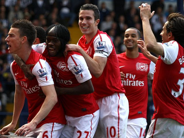Koscielny's goal ensured Arsenal finished third