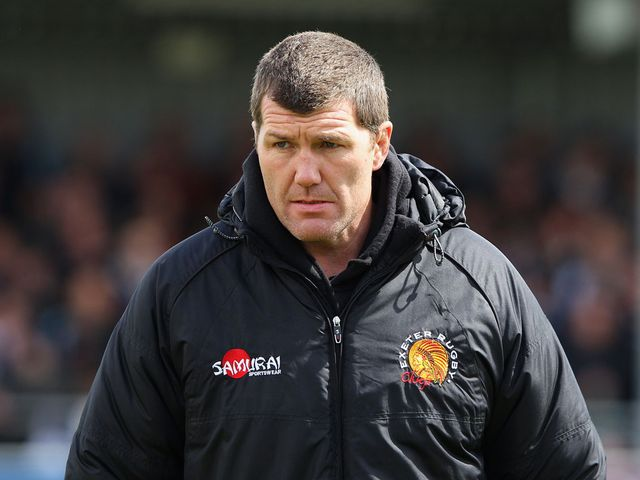 Rob Baxter: Delighted with big win