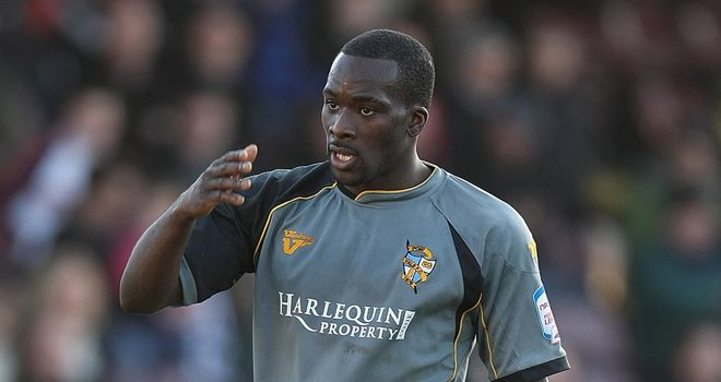 Anthony Griffith: Returns to Vale Park