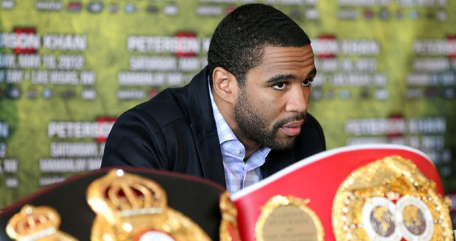 Lamont Peterson: Will defend his title for the first time after a drugs ban