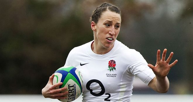 Katherine Merchant: Scored eight tries for England