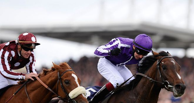 Camelot: Lived up to the hype in winning the 2000 Guineas