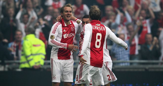 Siem de Jong: His doubled helped Ajax defended their Eredivisie title