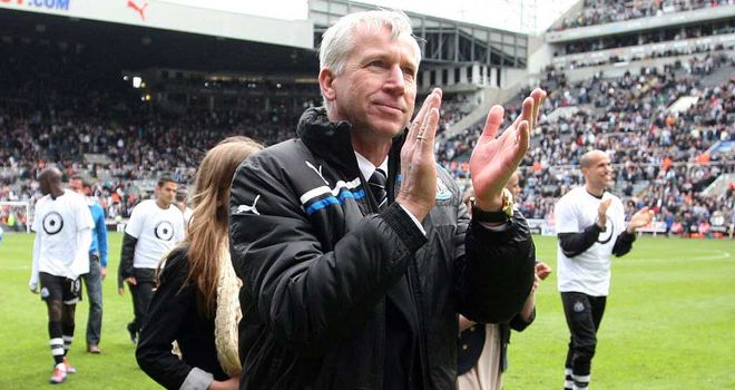 Alan Pardew: Named League Managers Association Manager of the Season