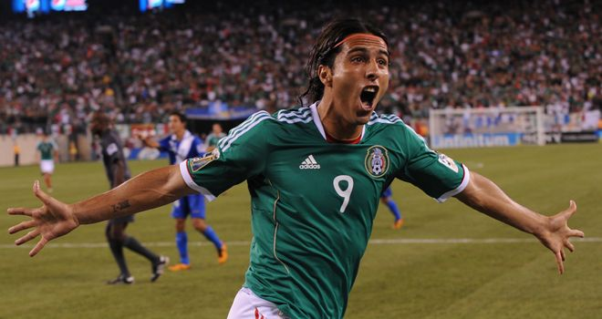 Aldo De Nigris: Netted two for Mexico in their friendly win over Wales