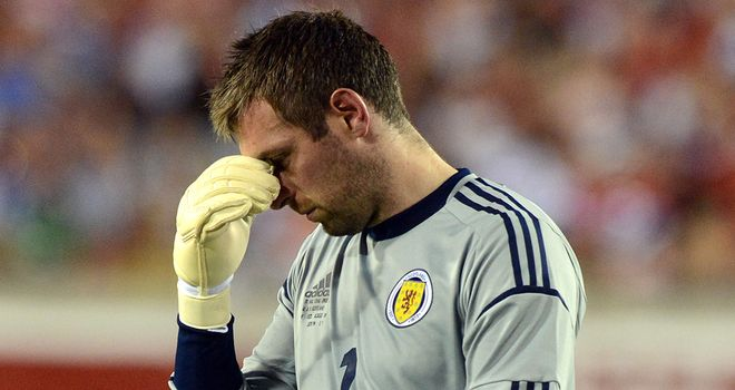 Allan McGregor: Disappointed by the decisions that went against Scotland