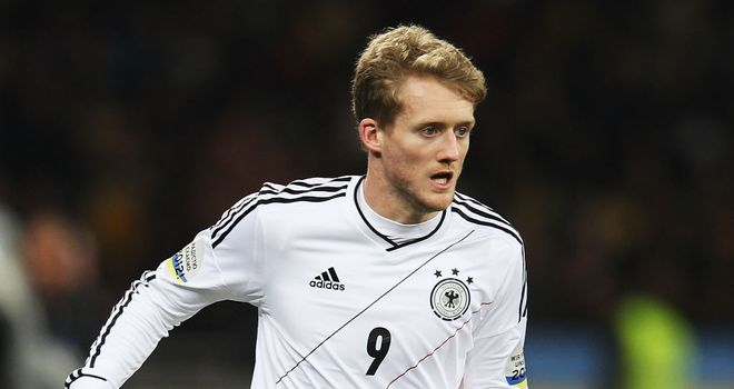 Andre Schurrle: Aiming for 2014 World Cup selection