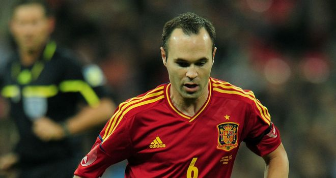 Andres Iniesta: Says he will only feel happy if he helps Spain lift the European trophy