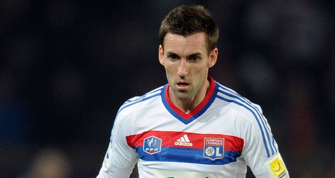 Anthony Reveillere: Will be looking for a Lyon win this weekend