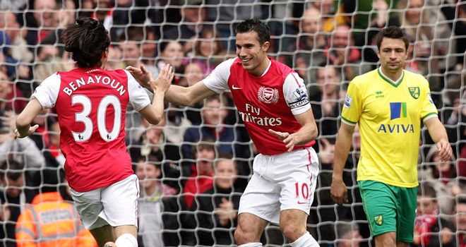 Robin van Persie: Set for talks with Arsenal before leaving for Euro 2012