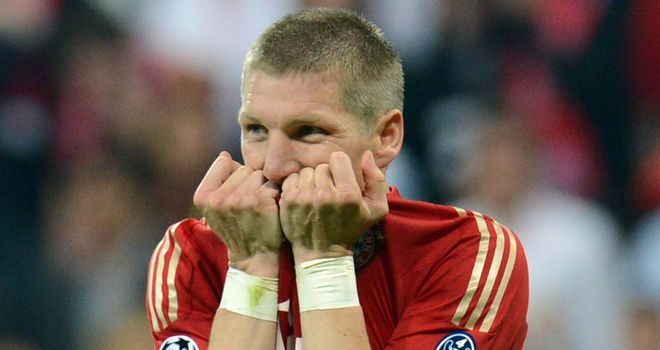 Bastian Schweinsteiger: Was left paralysed following the penalty shoot-out defeat to Chelsea
