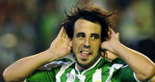Benat Etxebarria: On the mark for Real Betis in the win over Getafe