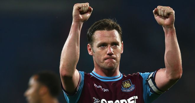 Kevin Nolan: Midfielder wants to be part of history at West Ham