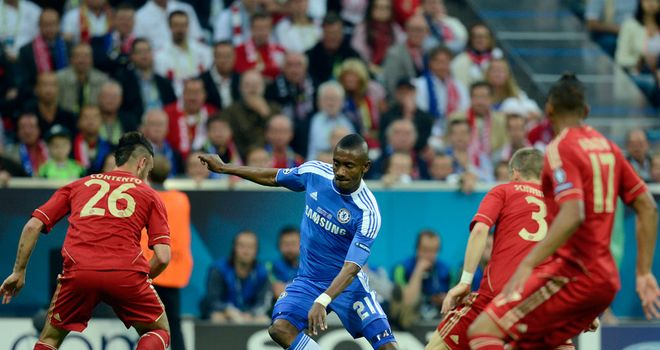 Salomon Kalou: Will not be retained by Chelsea after six years at the club.