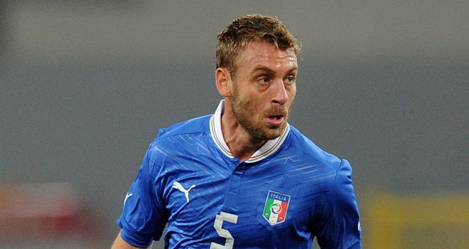 Daniele De Rossi: Handed a new role for his country at Euro 2012 and coping admirably