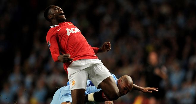 Danny Welbeck: Picked up an ankle knock after being caught by Nigel de Jong