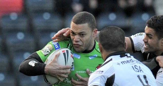 Danny Williams: enjoyed a brief spell in rugby union with Newcastle Falcons