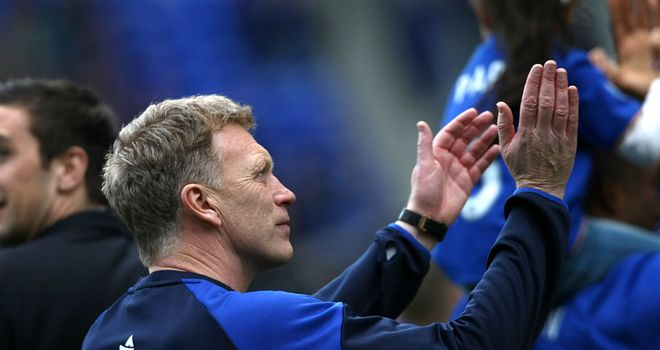 David Moyes: Undaunted by the prospects of Everton's potential