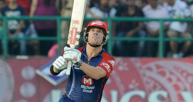 David Warner: Smashed 79 from 44 balls for the Daredevils