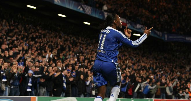 Didier Drogba: Has inspired Chelsea in Europe this season