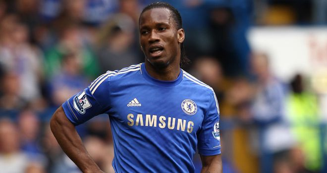 Didier Drogba: Scored 13 goals in 14 games for Chelsea against Arsenal