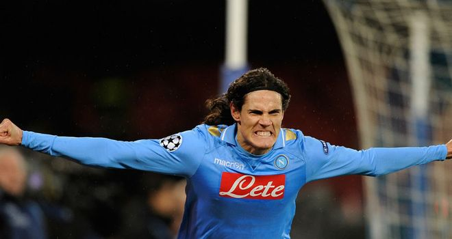 Edinson Cavani: Napoli have not yet been tempted to sell the striker