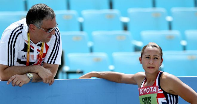 Toni Minichiello: With his star athlete Jessica Ennis