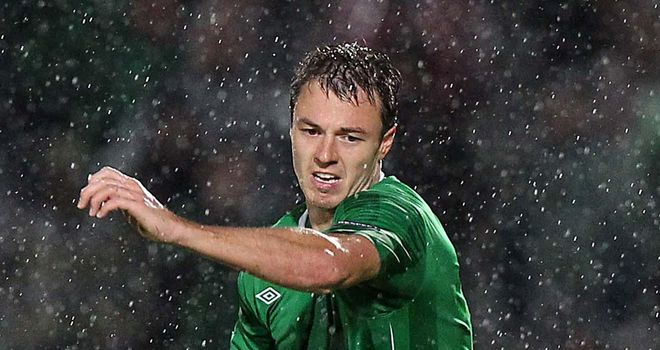 Jonny Evans: Has been named in the NI squad to face Russia and Luxembourg