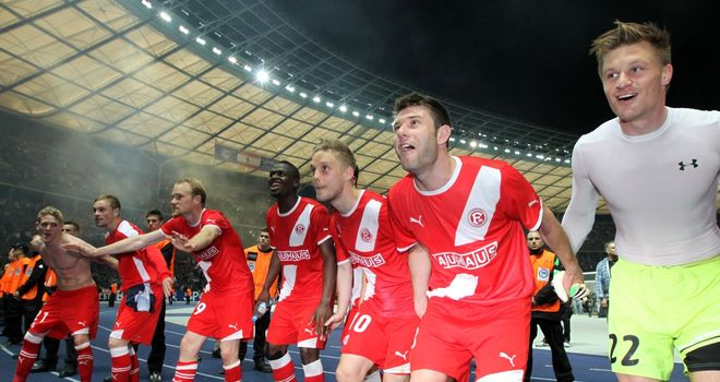 Fortuna Dusseldorf: After they sealed promotion