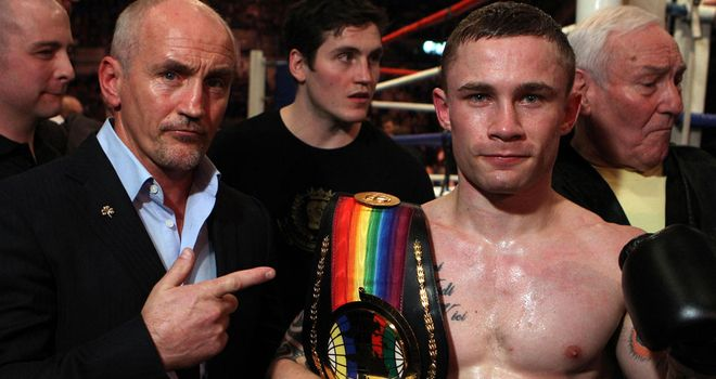 Barry McGuigan: Wants to develop Carl Frampton at the right pace