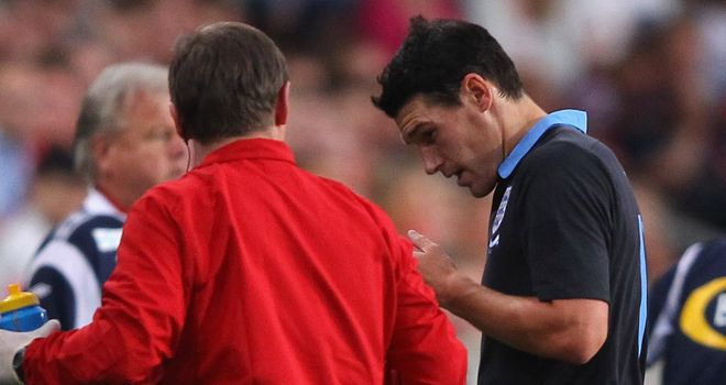 Gareth Barry: Limped out of England&#39;s friendly victory over Norway with a groin problem