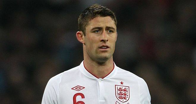 Gary Cahill: Aiming to add to his 10 caps when England face Moldova on Friday