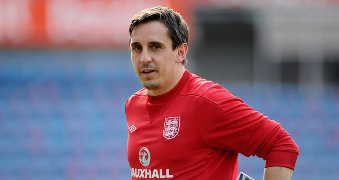 Gary Neville: England coach ready to draft more young players into senior squad