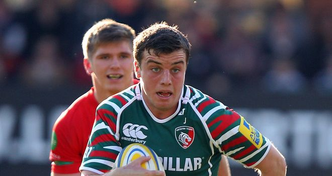 George Ford: Ready to compete for No.10 shirt