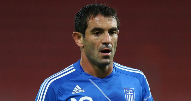 Giorgos Karagounis: Attracting interest from Fulham as a free agent